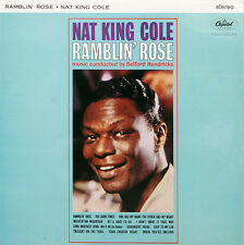"Nat King Cole Ramblin' Rose LP 12""33rpm reissue UK vinyl record (nm/fair sleeve)"