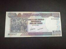 Burundi 500 Francs 2007 UNC