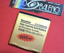 BATTERIA 2450Mah PER HTC SENSATION XE G14 Z710E POTENZIATA MAGGIORATA BA-S780