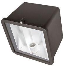 150W High Pressure Sodium Floodlight Bronze Powder Tempered Glass