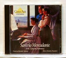 FRANCESCA ROTONDO, ALBERTO MONDINI - MERCADANTE arie, canzoni CLARIUS AUDI CD NM