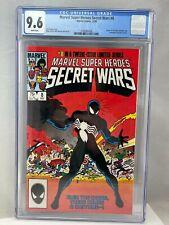 Marvel Super Heroes Secret Wars #8 CGC 9.6 NM+ Marvel Comics 12/84 1984 WP Venom