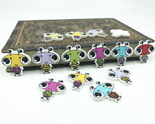 50X Wood animal button Fit Sewing scrapbooking ant button decoration crafts 25mm