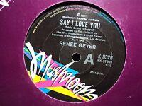 "Renee Geyer ""Say I Love You"" Great Oz 7"""
