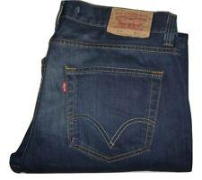 Mens LEVI'S 512 Dark Blue (0513) Bootcut Denim Jeans W36 L32