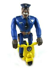 Moses Hightower Vintage Kenner Police Academy Action Figure w/ Scooter 1988 80s