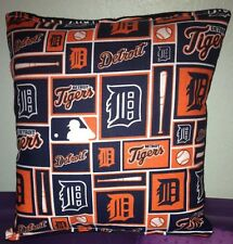 Tigers Pillow Detroit Tigers MLB Pillow Handmade in USA