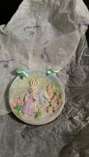 Hallmark 1994 Easter/Spring Collector's Plate Gathering Sunny Memories #1 Nib