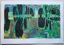 Paul Charlot - litho signée numérotée/220 - Benezit - Abstrait -Réalité poetique