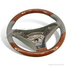 Mercedes-Benz SL 230 SLK 171 CLS 219 CL 203 Wood Grey Leather Steering Wheel