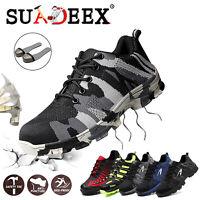 Scarpe Uomo antinfortunistica Scarpe da lavoro S3 SRC tappo in acciaio Sneakers