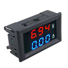 1 X DC 100V 10A Voltmeter Ammeter Dual Color Display LED Amp Volt Meter Gauge