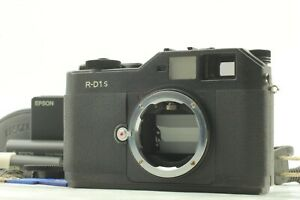 【N. MINT】 EPSON R-D1S 6.1MP Rangefinder Digital Camera LEICA M From JAPAN #1447