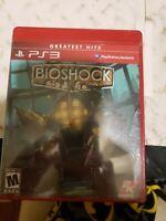 BioShock (Sony PlayStation 3, 2008) Greatest Hits brand  NEW/Sealed HTF
