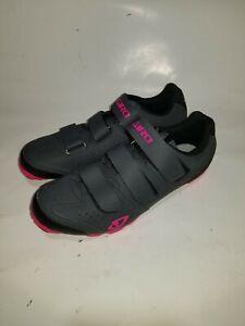 Giro Riela R Womens Mountain Cycling Shoe, Black/Pink, 7068409