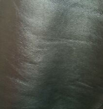 Metallic Silver Grey Lamb Leather Nappa Skins Hides 9 sqft