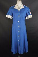 VTG Women's WWII American Red Cross Canteen Corps Uniform 1940s 40s #1291 WW2