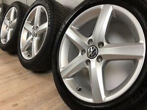 4 x Original 17 Zoll VW Passat 3C B7 Scirocco 1K8 Eos 1F Aspen Winterräder TOP