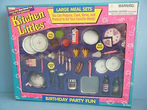 TYCO KITCHEN LITTLES BIRTHDAY PARTY FUN GIFT SET *NEW*