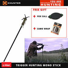 XHUNTER 1.8M Gun Shooting Stick Trigger Gunpod Rest Deer Fox Single Mono Stand