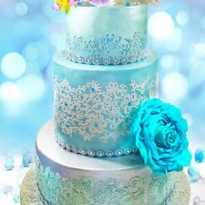 2 X Strips Paradise Edible Cake Lace ****SAME PRICE FOR ALL COLOUR***