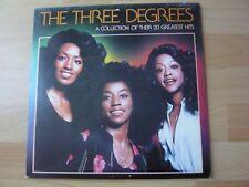 THE THREE DEGREES GREATEST HITS 1979 ALBUM 33T DISQUE VINYL