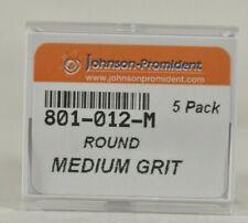 15 Pack 801 012 M Round Medium Grit Johnson Promident Dental Diamond Burs