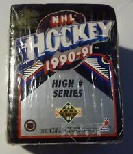 1990-91 Upper Deck Hockey High # Series Factory Sealed Box - Card #'s 401 - 550
