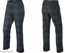 nwt~Nike Golf Dri-Fit TARTAN PLAID Pants Tour Performance Trousers~Mens sz 34/32