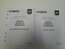 2012 Yamaha RS90PB RS90PLTB RST90PGTB Supplementary Service Manual 2 VOL SET OEM