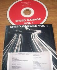 SPEED GARAGE VOL.1. ( OLD SKOOL DJ MIX CD ) LISTEN