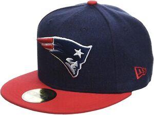 New Era 59fifty NFL New England Patriots Classic Trim Fit Hat Cap Snapback