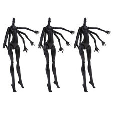 Stylish Black Spider Doll Nude Female Body Mold For  Custom 3pcs