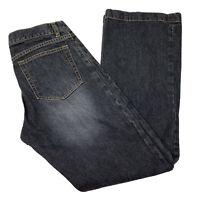 Gap Womens 8 Regular Long and Lean Jeans Blue Dark Rinse Denim Stretch Pants