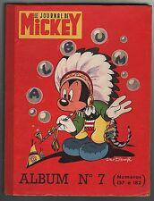 ALBUM  JOURNAL  DE  MICKEY  N° 7   (n°157 à 182)  1955 . TRÈS BON ÉTAT +