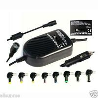 80W Universal Car Charger Auto DC Power Adapter Supply For Notebook Laptop PC
