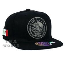 MEXICAN hat MEXICO Federal Logo State Snapback Baseball cap- SINALOA /Grey Logo