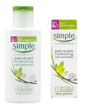 NUOVO tipo semplice per la pelle idratante leggera crema idratante 125 ML