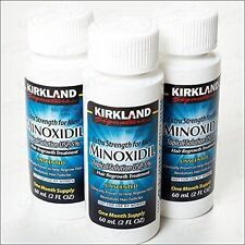 Kirkland minoxidil 5% 3 MONTHS Hair Regrow -Powerful -Dropper NOT Included