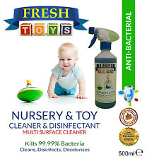 Toy cleaner-nursery and toy nettoyant multi surface-tue 99.9% germes 500ml
