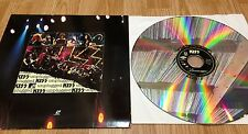 "KISS "" Unplugged "" LASERDISC ** The Video ** USA 1996'"