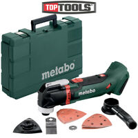Metabo MT18LTX 18V Cordless Compact Multi-Tool Body With Acc. With case