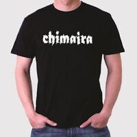New Chimaira Band Logo Men's Black T-Shirt Size S to 3XL
