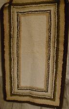 1 Large 40 by 22 inch Beige Type Throw Rug