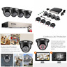ZOSI Security Camera Systems 720P CCTV Camera System w/1TB Hard Drive 8CH 1080N