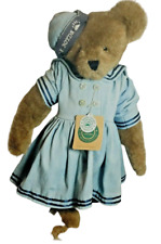 Boyds Bear Archive Collection Nwt Colleen Nautical bear, denim dress retail $50+