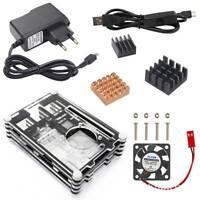 Starter Kits for Raspberry Pi 2/3 Model B Accessories+5V 2.5A Power Supply+Fan