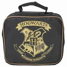 Harry Potter Hogwarts Lunch Bag Zip Branded Lunchbox Snacks Food School Office