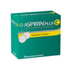 ASPIRIN plus C Brausetabletten 40St PZN 03464237