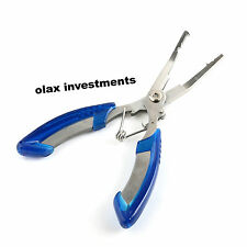 """Stainless 6.3"""" Steel Fishing Pliers Scissors Line Cutter Remove Hook Tackle Tool"""